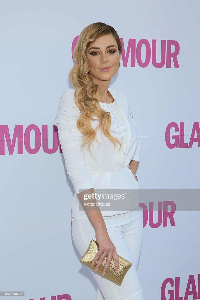 Lia Ferré attends the Glamour Magazine México Beauty Awards 2013 at Museo Rufino Tamayo on February 13, 2014 in Mexico City, Mexico.