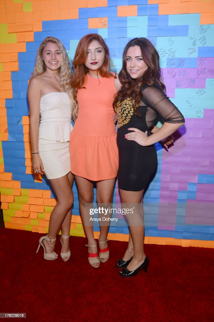 Lia Marie Johnson, <a gi-track='captionPersonalityLinkClicked' href=/galleries/search?phrase=Jennessa+Rose&family=editorial&specificpeople=5906010 ng-click='$event.stopPropagation()'>Jennessa Rose</a> and Julianna Rose attend Teen Choice Awards After 'Party' For A Cause Hosted by Boys & Girls Clubs of America and Staples at Saddle Ranch on August 11, 2013 in Universal City, California.