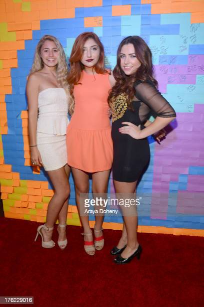 Lia Marie Johnson Jennessa Rose and Julianna Rose attend Teen Choice Awards After 'Party' For A Cause Hosted by Boys Girls Clubs of America and...