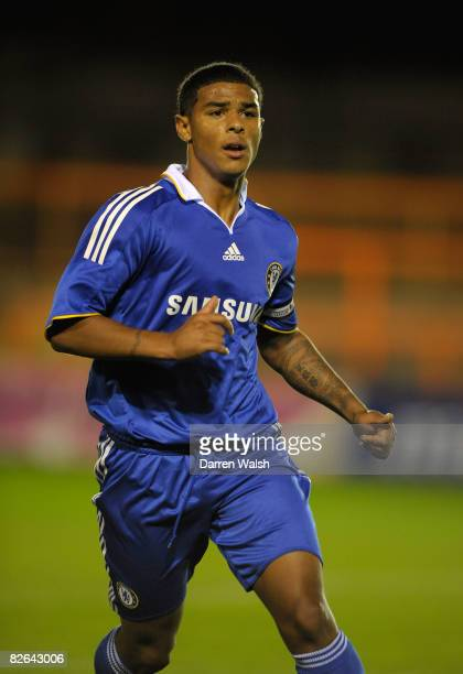 Liam Bridcutt of Chelsea during a Barclays Premier Reserve League south match between Arsenal Reserves vs Chelsea Reserves at Barnet FC's ground...