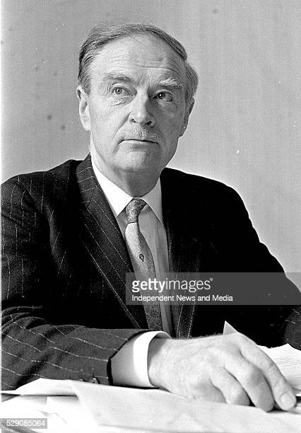 Liam Cosgrave as Taoiseach circa March 1973 Photographer Tom Burke