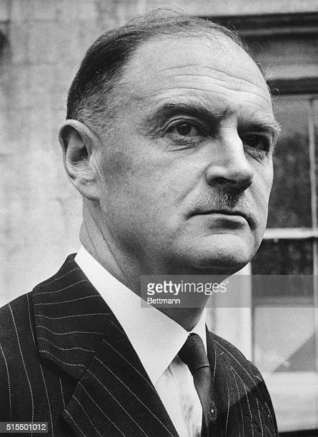 Liam Cosgrave the leader of the Fine Gael Ireland's main opposition party is shown here