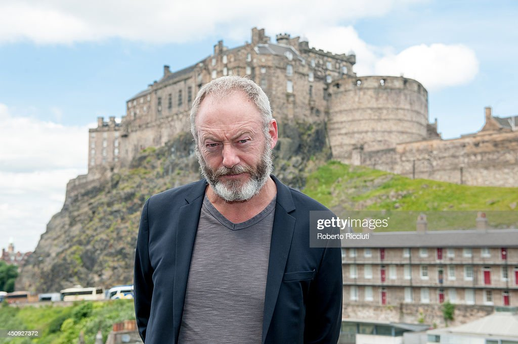 <a gi-track='captionPersonalityLinkClicked' href=/galleries/search?phrase=Liam+Cunningham&family=editorial&specificpeople=549747 ng-click='$event.stopPropagation()'>Liam Cunningham</a> attends 'Let us pray' photocall at Apex International Hotel during the Edinburgh International Film Festival on June 20, 2014 in Edinburgh, Scotland.