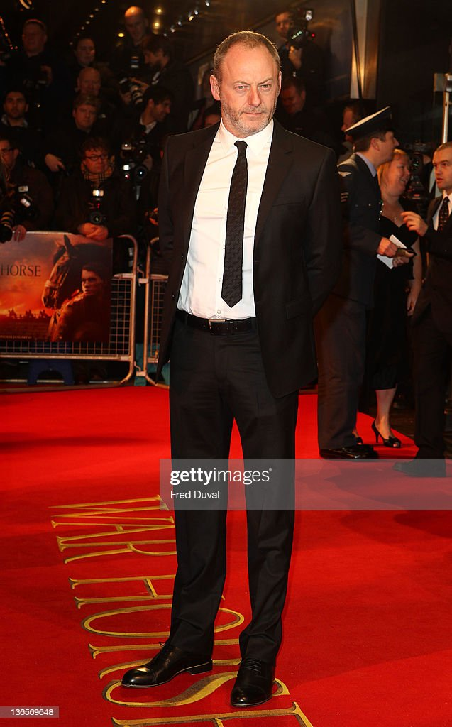 Liam Cunningham attends the UK premiere of War Horse at Odeon Leicester Square on January 8, 2012 in London, England.