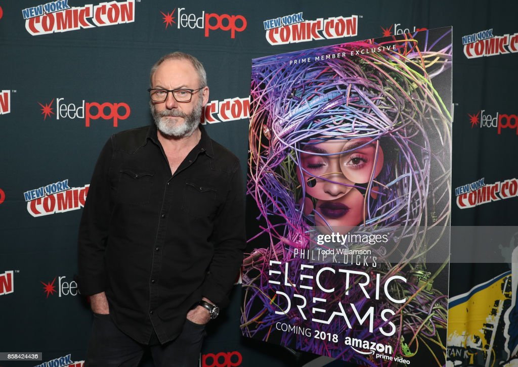 Liam Cunningham attends 'The World of Philip K. Dick' - The Man in the High Castle and Philip K. Dick's Electric Dreams Press Room at The Jacob K. Javits Convention Center on October 6, 2017 in New York City.