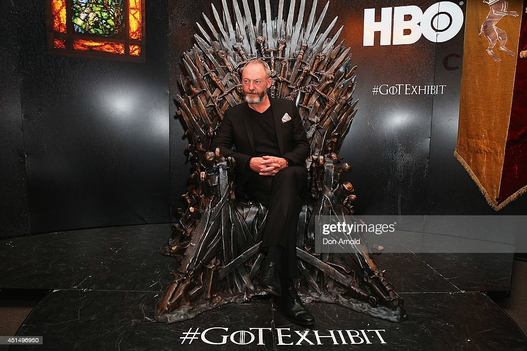 <a gi-track='captionPersonalityLinkClicked' href=/galleries/search?phrase=Liam+Cunningham&family=editorial&specificpeople=549747 ng-click='$event.stopPropagation()'>Liam Cunningham</a> poses at the launch of the Game Of Thrones Exhibition at Museum of Contemporary Art on June 30, 2014 in Sydney, Australia.