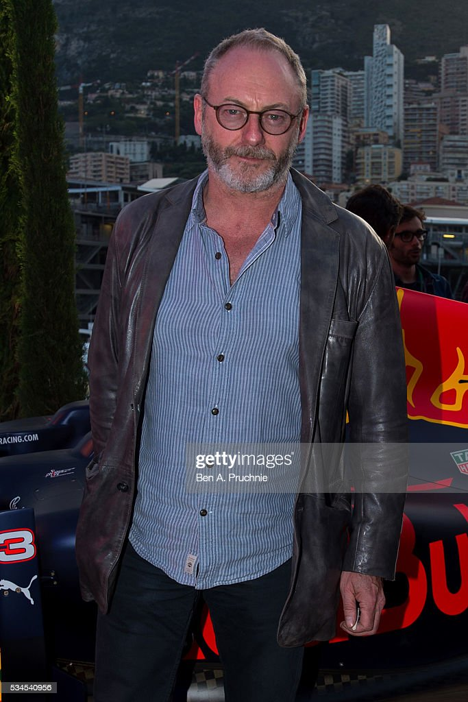 <a gi-track='captionPersonalityLinkClicked' href=/galleries/search?phrase=Liam+Cunningham&family=editorial&specificpeople=549747 ng-click='$event.stopPropagation()'>Liam Cunningham</a> poses for photographs at the Red Bull Racing Energy Station at Monte Carlo on May 26, 2016 in Monaco, Monaco.