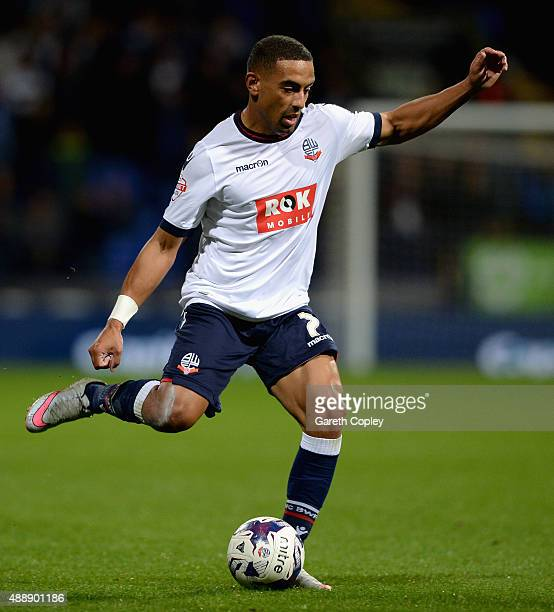 Liam Feeney of Bolton during the Sky Bet Championship match between Bolton Wanderers and Sheffield Wednesday at Reebok Stadium on September 15 2015...