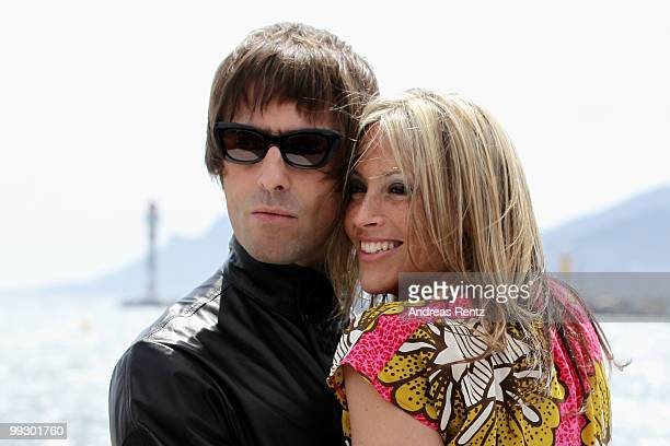Liam Gallagher and Nicole Appleton attends 'The Longest Cocktail Party' Photocall at the Terrazza Martini during the 63rd Annual Cannes Film Festival...