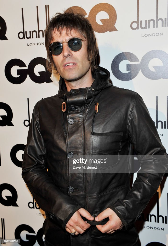 Liam Gallagher arrives at the GQ Men Of The Year Awards 2012 at The Royal Opera House on September 4, 2012 in London, England.