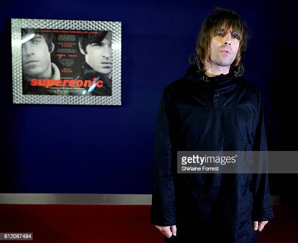 Liam Gallagher arrives for the special screening of Oasis documentary 'Supersonic' at Odeon The Printworks on October 2 2016 in Manchester United...