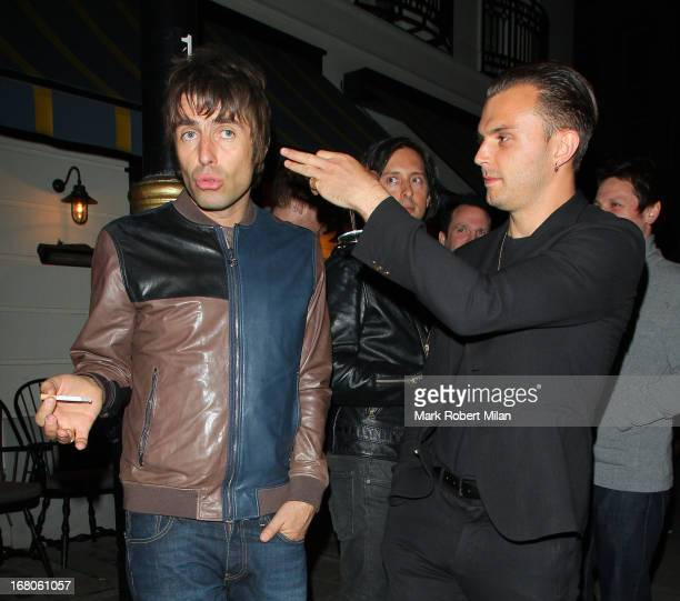 Liam Gallagher at The Little House club on May 4 2013 in London England