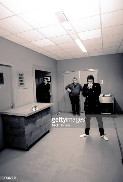 Liam Gallagher backstage at an Oasis concert at the Heineken Music Hall on January 21st 2009 in Amsterdam Netherlands