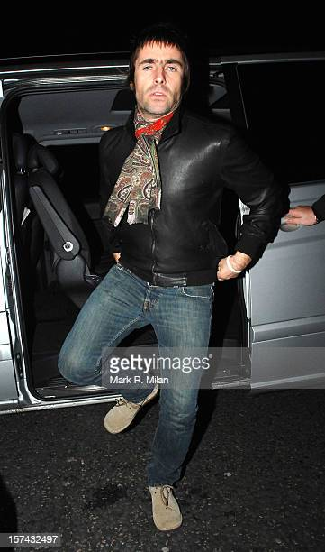 Liam Gallagher is seen on November 19 2008 in London England