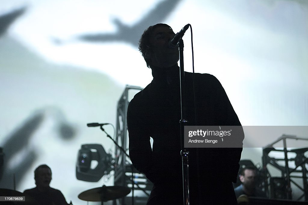 <a gi-track='captionPersonalityLinkClicked' href=/galleries/search?phrase=Liam+Gallagher&family=editorial&specificpeople=202958 ng-click='$event.stopPropagation()'>Liam Gallagher</a> of Beady Eye performs on stage at The Ritz, Manchester on June 19, 2013 in Manchester, England.