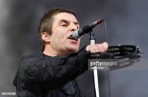 Liam Gallagher performs at Zeppelinfeld on June 4 2017 in Nuremberg Germany