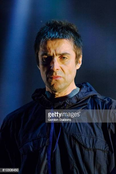 Liam Gallagher performs live at Exit Festival on July 6 2017 in Novi Sad Serbia
