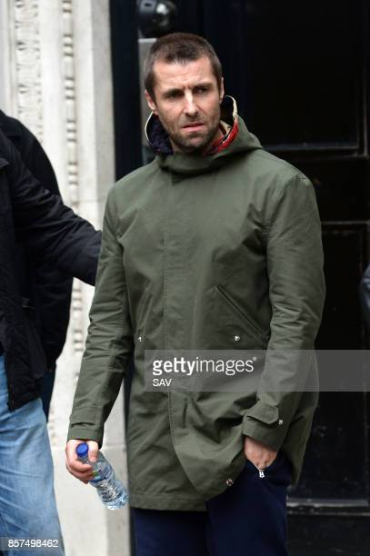 Liam Gallagher sighting on October 4 2017 in London England