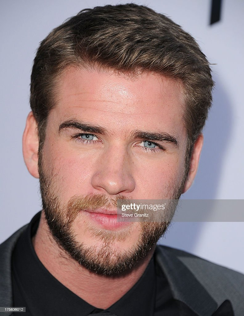 Liam Hemsworth arrives at the 'Paranoia' - Los Angeles Premiere at DGA Theater on August 8, 2013 in Los Angeles, California.