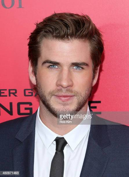 Liam Hemsworth attends a special screening of 'The Hunger Games Catching Fire' on November 20 2013 in New York City