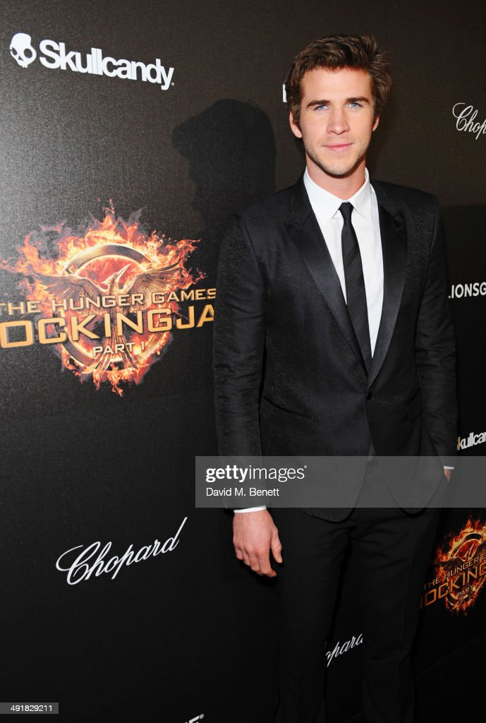 <a gi-track='captionPersonalityLinkClicked' href=/galleries/search?phrase=Liam+Hemsworth&family=editorial&specificpeople=6338547 ng-click='$event.stopPropagation()'>Liam Hemsworth</a> attends Lionsgate's 'The Hunger Games: Mockingjay Part 1' party at a private villa on May 17, 2014 in Cannes, France.