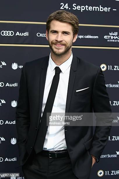 Liam Hemsworth attends The Dressmaker Premiere during the Zurich Film Festival on September 26 2015 in Zurich Switzerland The 11th Zurich Film...