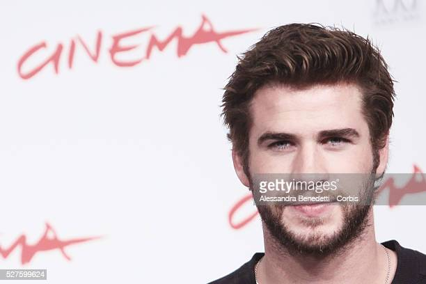 Liam Hemsworth attends the photocall of movie 'The Hunger GamesCatching Fire' during the 8th International Rome Film Festival