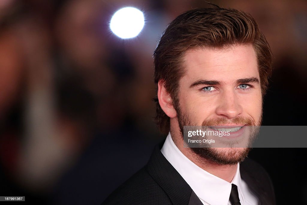 <a gi-track='captionPersonalityLinkClicked' href=/galleries/search?phrase=Liam+Hemsworth&family=editorial&specificpeople=6338547 ng-click='$event.stopPropagation()'>Liam Hemsworth</a> attends the 'The Hunger Games: Catching Fire' Premiere during The 8th Rome Film Festival at Auditorium Parco Della Musica on November 14, 2013 in Rome, Italy.