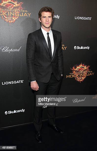 Liam Hemsworth attends the 'The Hunger Games Mockingjay Part 1' party at the 67th Annual Cannes Film Festival on May 17 2014 in Cannes France