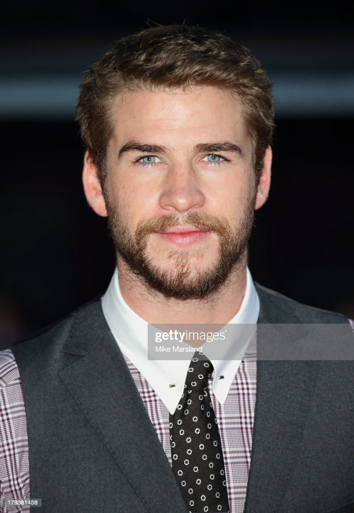 <a gi-track='captionPersonalityLinkClicked' href=/galleries/search?phrase=Liam+Hemsworth&family=editorial&specificpeople=6338547 ng-click='$event.stopPropagation()'>Liam Hemsworth</a> attends the World Premiere of 'Rush' at Odeon Leicester Square on September 2, 2013 in London, England.