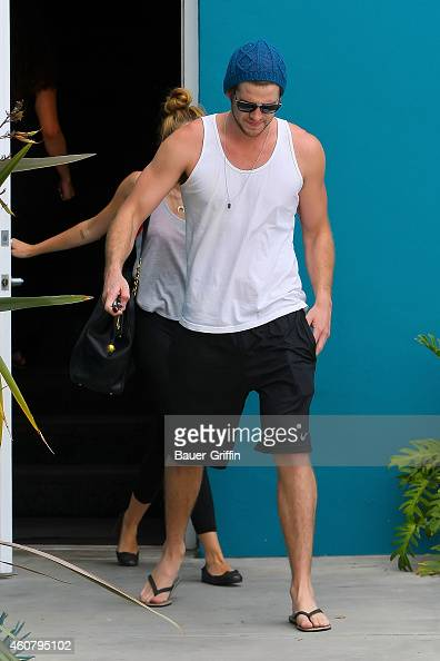 Liam Hemsworth is seen on July 13 2012 in Los Angeles California