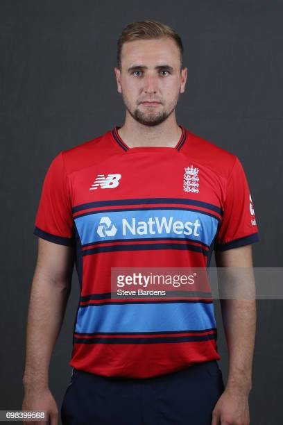 Liam Livingstone of England poses for a portrait ahead of the Twenty20 International between England and South Africa at Ageas Bowl on June 20 2017...