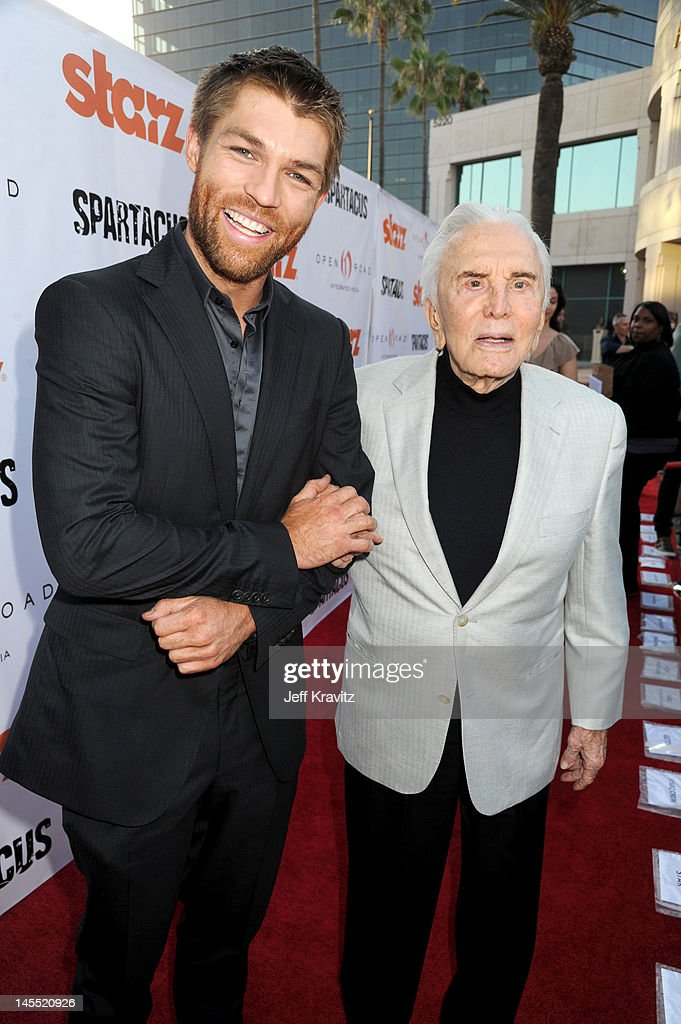 """Starz Celebrates Kirk Douglas And Impact Of """"Spartacus"""" Then And Now"""