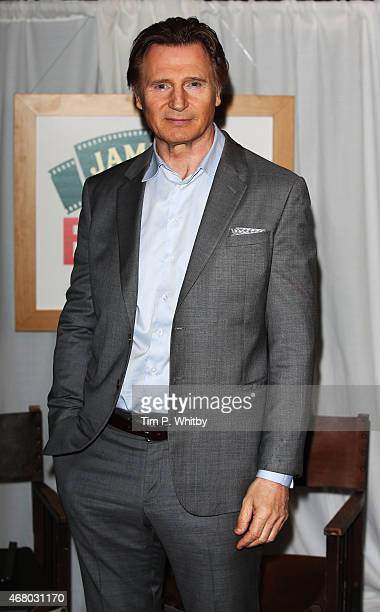 Liam Neeson at the Jameson Empire Awards 2015 at the Grosvenor House Hotel on March 29 2015 in London England