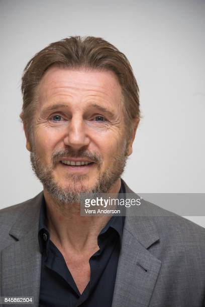 Liam Neeson at the 'Mark Felt The Man Who Brought Down the White House' Press Conference at the Fairmont Royal York Hotel on September 10 2017 in...