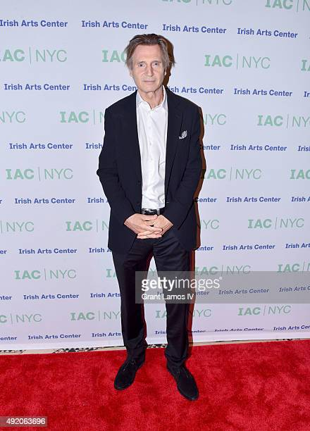 Liam Neeson attends the 2015 Spirit of Ireland Gala at Cipriani 42nd Street on October 9 2015 in New York City