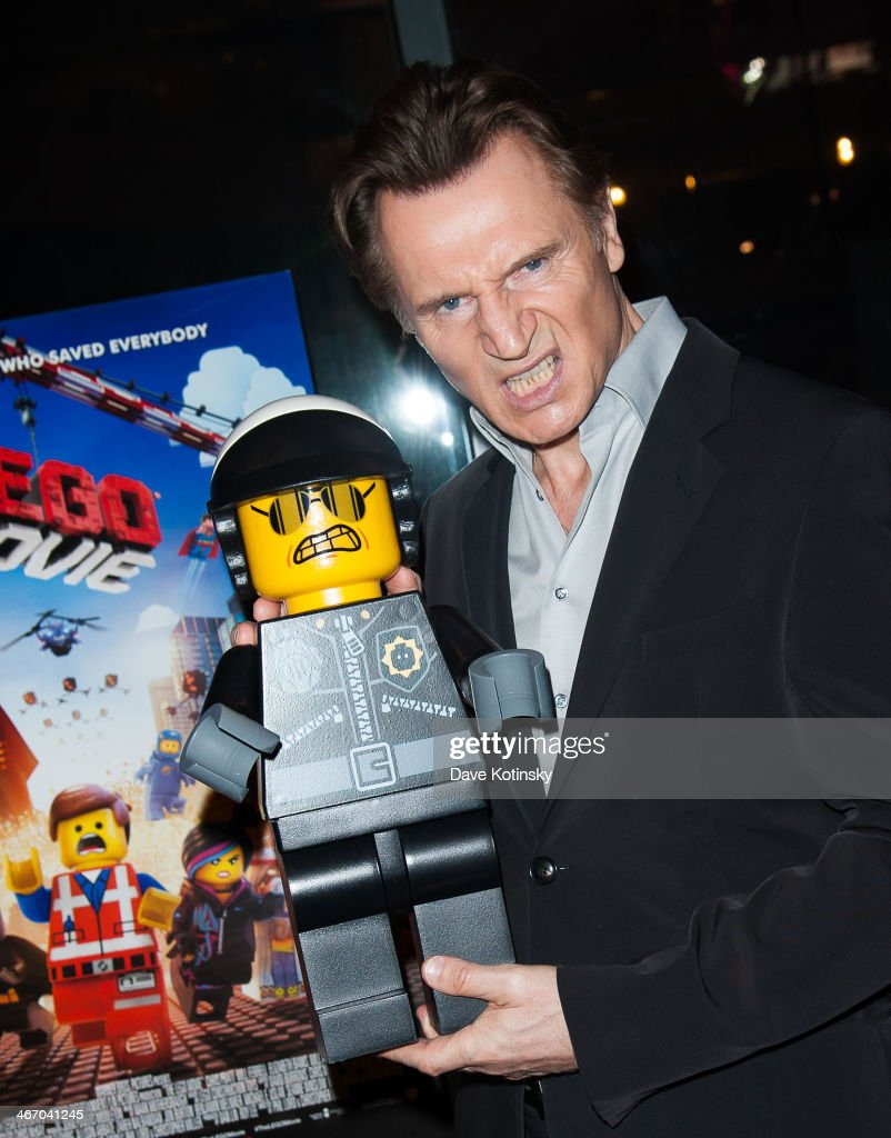 <a gi-track='captionPersonalityLinkClicked' href=/galleries/search?phrase=Liam+Neeson&family=editorial&specificpeople=202030 ng-click='$event.stopPropagation()'>Liam Neeson</a> attends 'The LEGO Movie' screening hosted by Warner Bros. Pictures and Village Roadshow Pictures at AMC Empire 25 theater on February 5, 2014 in New York City.