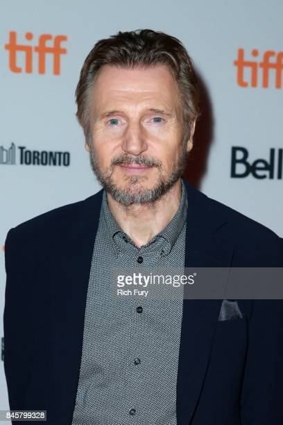 Liam Neeson attends the 'Mark Felt The Man Who Brought Down The White House'premiere during the 2017 Toronto International Film Festival at Ryerson...