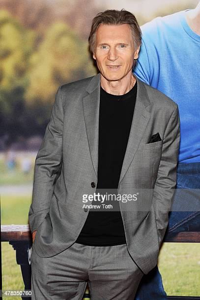 Liam Neeson attends the 'Ted 2' New York premiere at Ziegfeld Theater on June 24 2015 in New York City