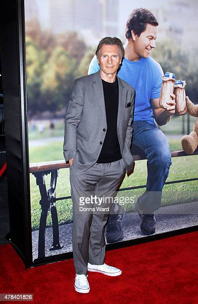 Liam Neeson attends the 'Ted 2' world premiere at Ziegfeld Theater on June 24 2015 in New York City