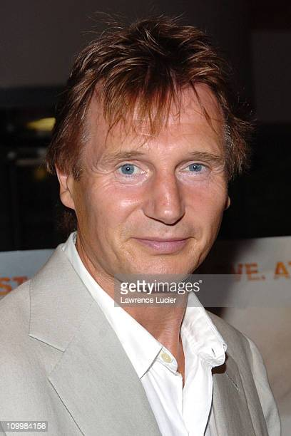 Liam Neeson during The Constant Gardener New York Premiere Arrivals at Loews Lincoln Square in New York City New York United States