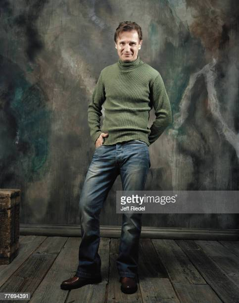 Liam Neeson Liam Neeson by Jeff Riedel Liam Neeson Entertainment Weekly November 12 2004