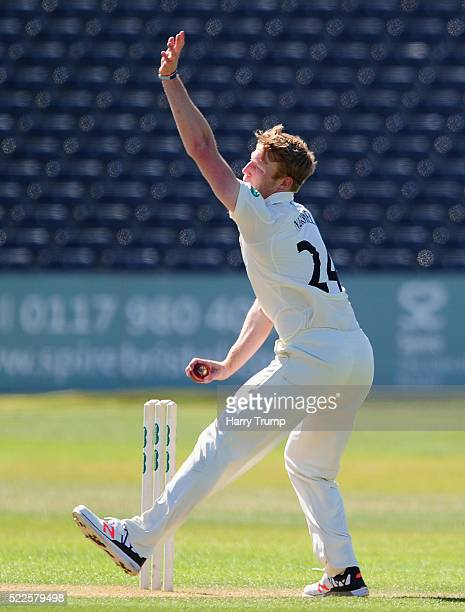 Liam Norwell of Gloucestershire during Day Four of the Specsavers County Championship Division Two match between Gloucestershire and Derbyshire at...