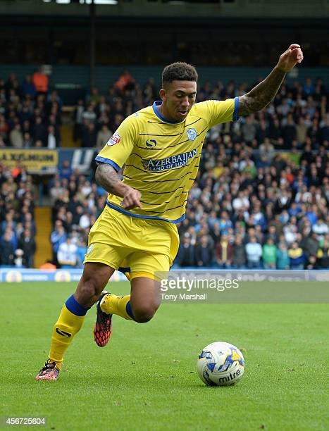 Liam Palmer of Sheffield Wednesday during the Sky Bet Championship match between Leeds United and Sheffield Wednesday at Elland Road on October 4...