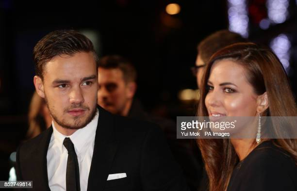 Liam Payne and his girlfriend Sophia Smith arriving for the World premiere of documentary film The Class of 92 detailing the rise to prominence and...