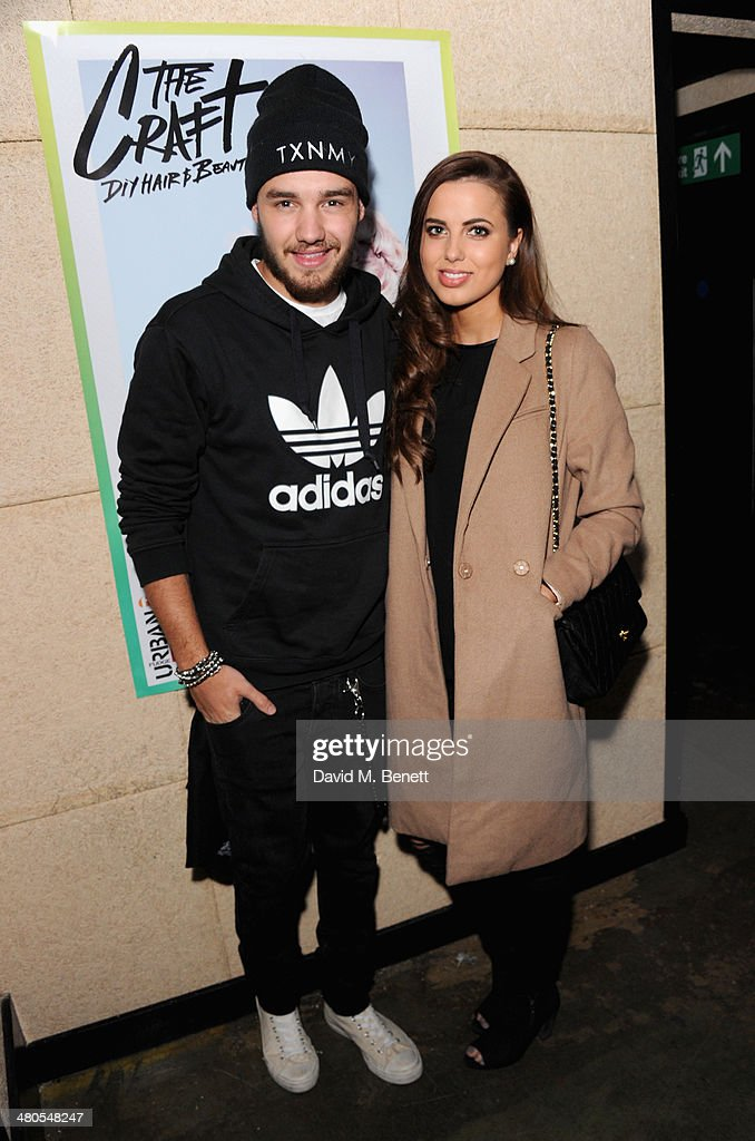 Liam Payne and Sophia Smith attend the Fudge Urban Lou Teasdale Book Launch party on March 25 2014 in London United Kingdom