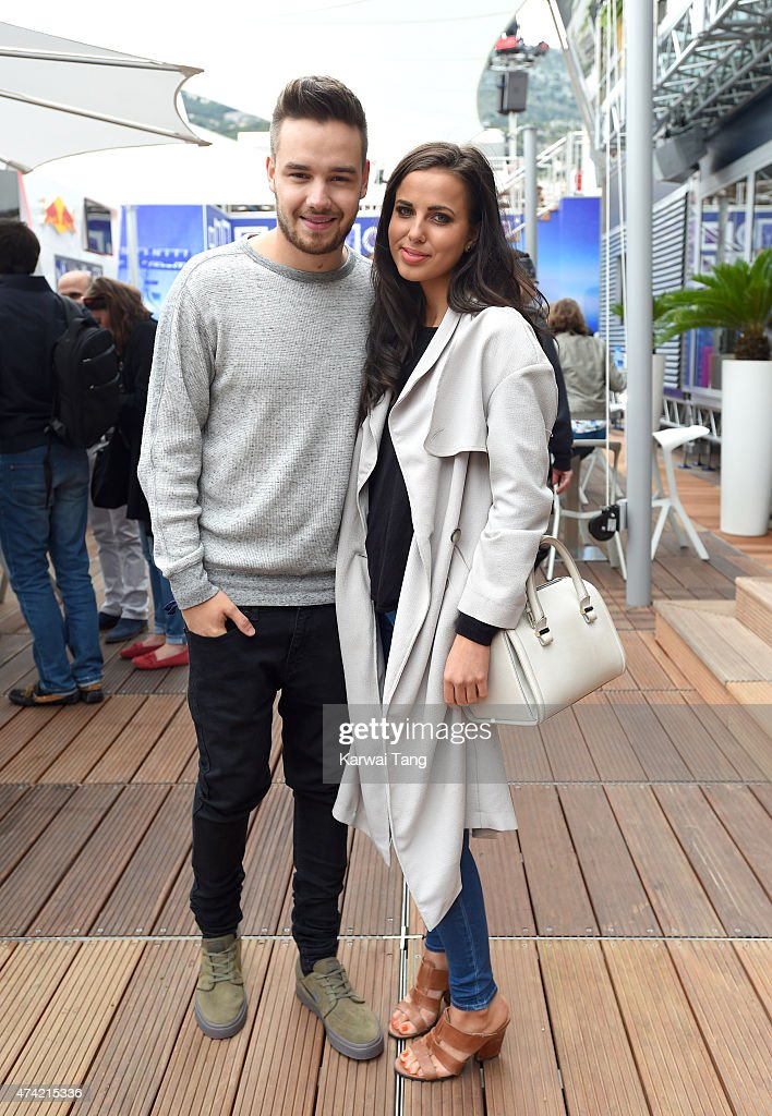 Liam Payne and Sophia Smith attend the Infiniti Red Bull Racing Energy Station at Monte Carlo on May 21 2015 in Monaco Monaco