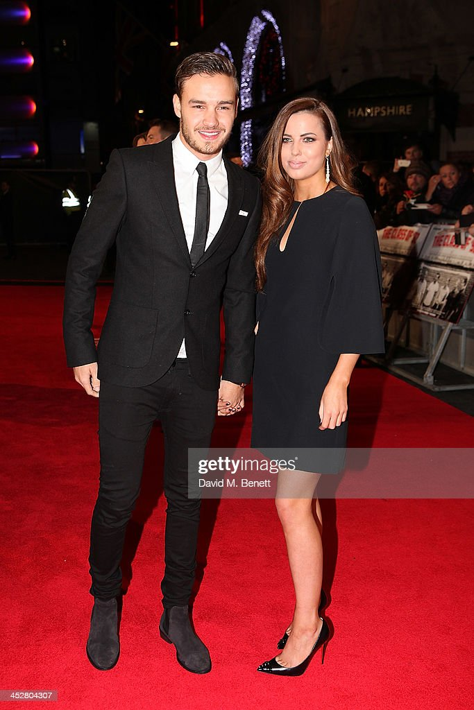 Liam Payne and Sophia Smith attend the World premiere of 'The Class of 92' at Odeon West End on December 1 2013 in London England