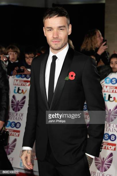Liam Payne attends the Pride Of Britain Awards at Grosvenor House on October 30 2017 in London England