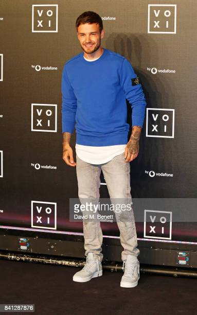 Liam Payne attends the VOXI launch party at Brick Lane Yard on August 31 2017 in London England